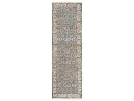 Surya Theodora 2'6'' x 8' Rectangular Light Gray Runner Rug
