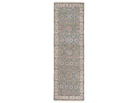 Surya Theodora 2'6'' x 8' Rectangular Light Gray Runner Rug