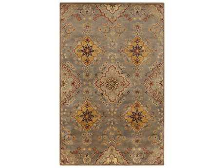 Surya Tinley Rectangular Charcoal Area Rug