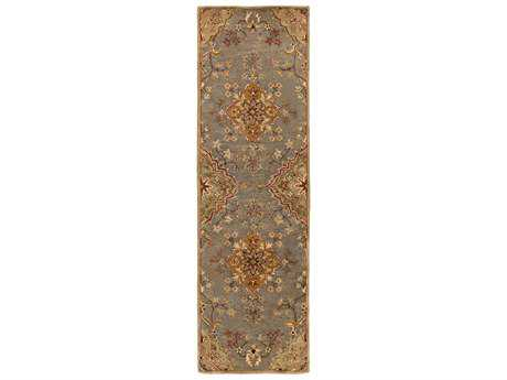 Surya Tinley 2'6'' x 8' Rectangular Charcoal Runner Rug