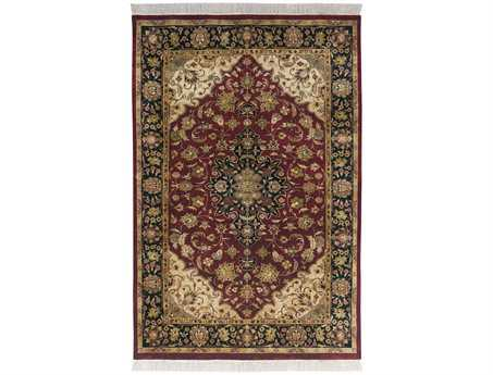 Surya Taj Mahal Rectangular Red Area Rug
