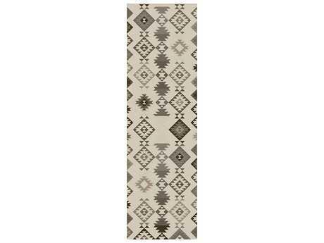 Surya Tallo 2'6'' x 8' Rectangular Light Gray Runner Rug