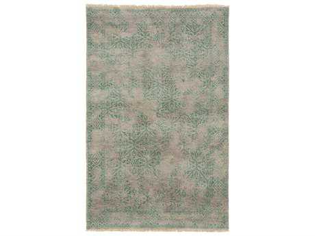 Surya Transcendent Rectangular Kelly Green Area Rug