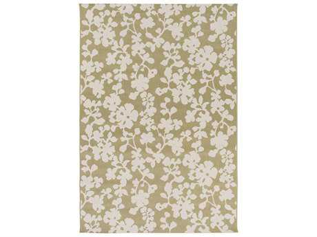 Surya Terrace Rectangular Olive Area Rug