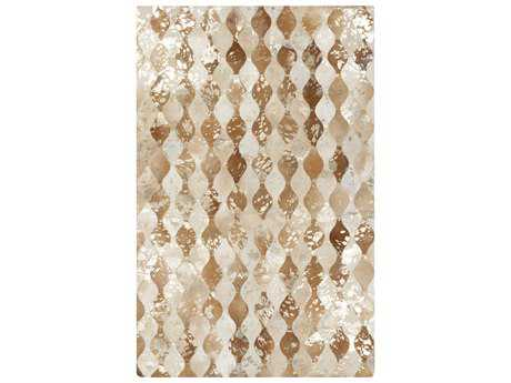 Surya Trail Rectangular Beige Area Rug