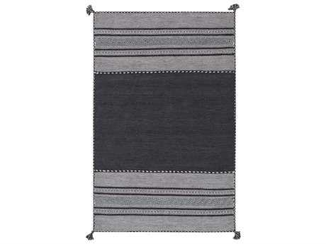 Surya Trenza Rectangular Light Gray Area Rug
