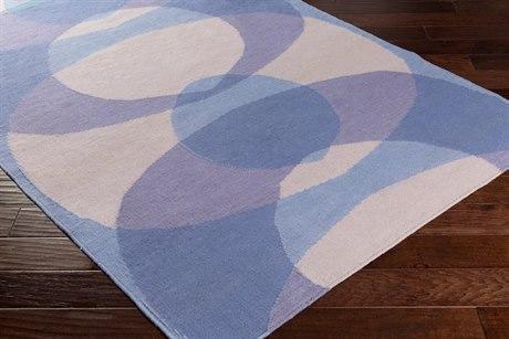 Surya Taurus One Rectangular Lavender & Denim Area Rug