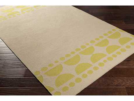 Surya Textila Rectangular Lime & Ivory Area Rug