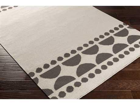 Surya Textila Rectangular Lilac & Ivory Area Rug