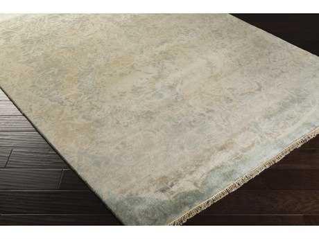 Surya Uncharted Rectangular Medium Gray, Ivory & Light Gray Area Rug