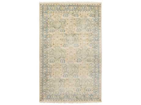 Surya Uncharted Rectangular Light Gray Area Rug