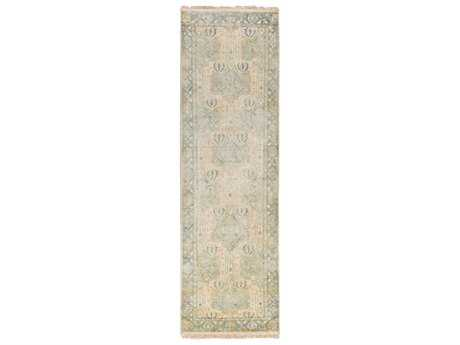 Surya Uncharted 2'6'' x 8' Rectangular Light Gray Runner Rug