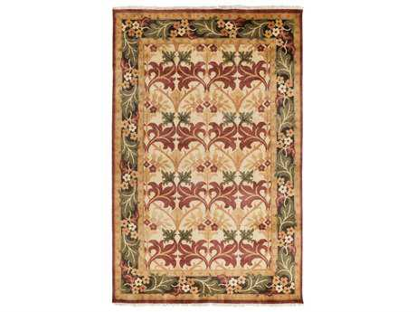Surya Uncharted Rectangular Olive Area Rug