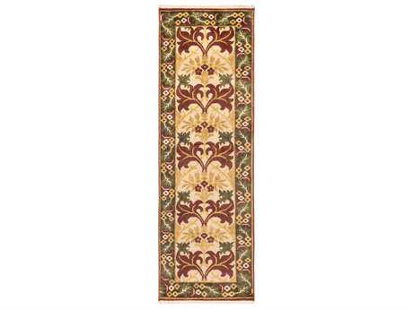 Surya Uncharted 2'6'' x 8' Rectangular Olive Runner Rug