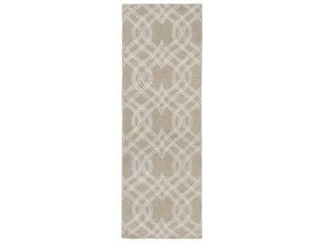 Surya Vega Rectangular Light Gray Runner Rug