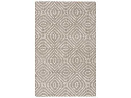 Surya Vega Rectangular Light Gray Area Rug