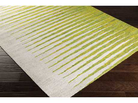 Surya Vibe Rectangular Lime, Bright Yellow & Ivory Area Rug