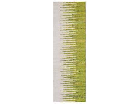 Surya Vibe 2'6'' x 8' Rectangular Lime, Bright Yellow & Ivory Runner Rug