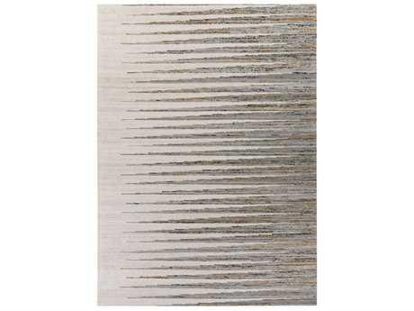 Surya Vibe Rectangular Light Gray, Dark Brown & Ivory Area Rug