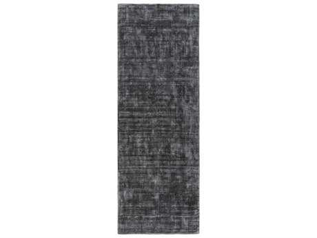 Surya Viola 2'6'' x 8' Rectangular Gray Runner Rug