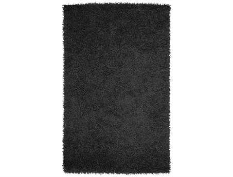 Surya Vivid Rectangular Black Area Rug
