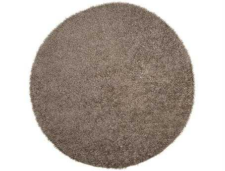 Surya Vivid Round Brown Area Rug
