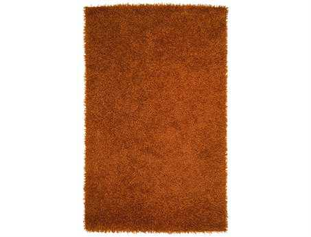 Surya Vivid Rectangular Orange Area Rug