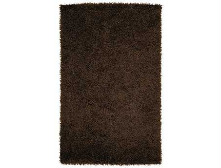 Surya Vivid Rectangular Brown Area Rug
