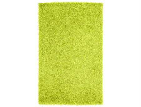 Surya Vivid Rectangular Green Area Rug
