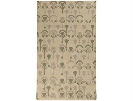 Surya Voyages Rectangular Beige Area Rug