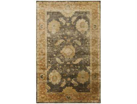 Surya Vintage Rectangular Gray Area Rug