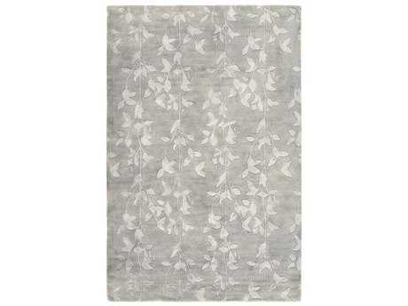 Surya Waldorf Rectangular Light Gray Area Rug