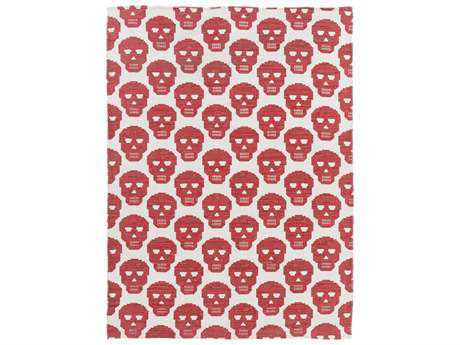 Surya Wicked Rectangular Hot Pink Area Rug