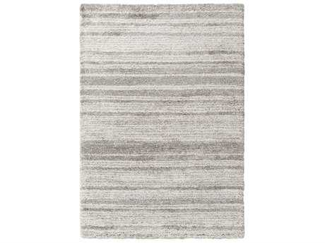 Surya Wilder Rectangular Taupe & White Area Rug