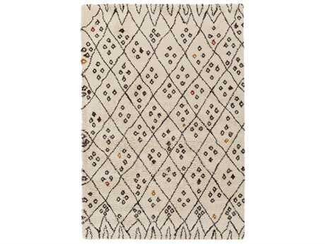 Surya Wilder Rectangular Khaki, Dark Brown & Burnt Orange Area Rug