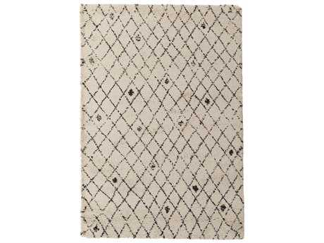 Surya Wilder Rectangular Cream & Dark Brown Area Rug