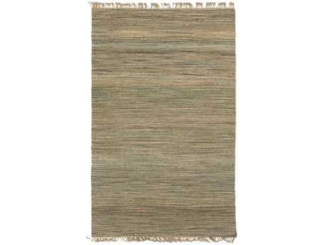 Surya Woodstock Rectangular Green Area Rug