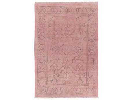 Surya Wilmington Rectangular Rust Area Rug