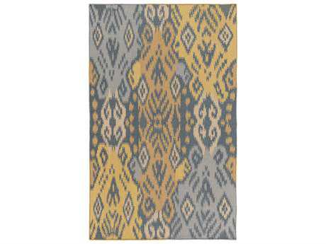 Surya Wanderer Rectangular Gold Area Rug