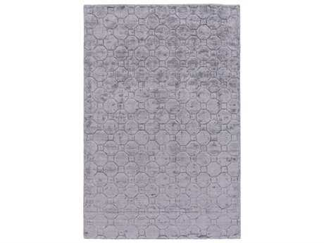 Surya Wyndham Rectangular Gray Area Rug