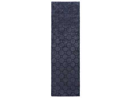 Surya Wyndham 2'6'' x 8' Rectangular Black Runner Rug