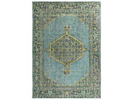 Surya Zahra Rectangular Emerald, Lime & Olive Area Rug