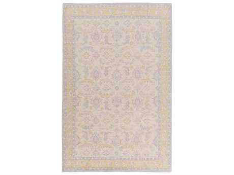 Surya Zahra Rectangular Gold Area Rug
