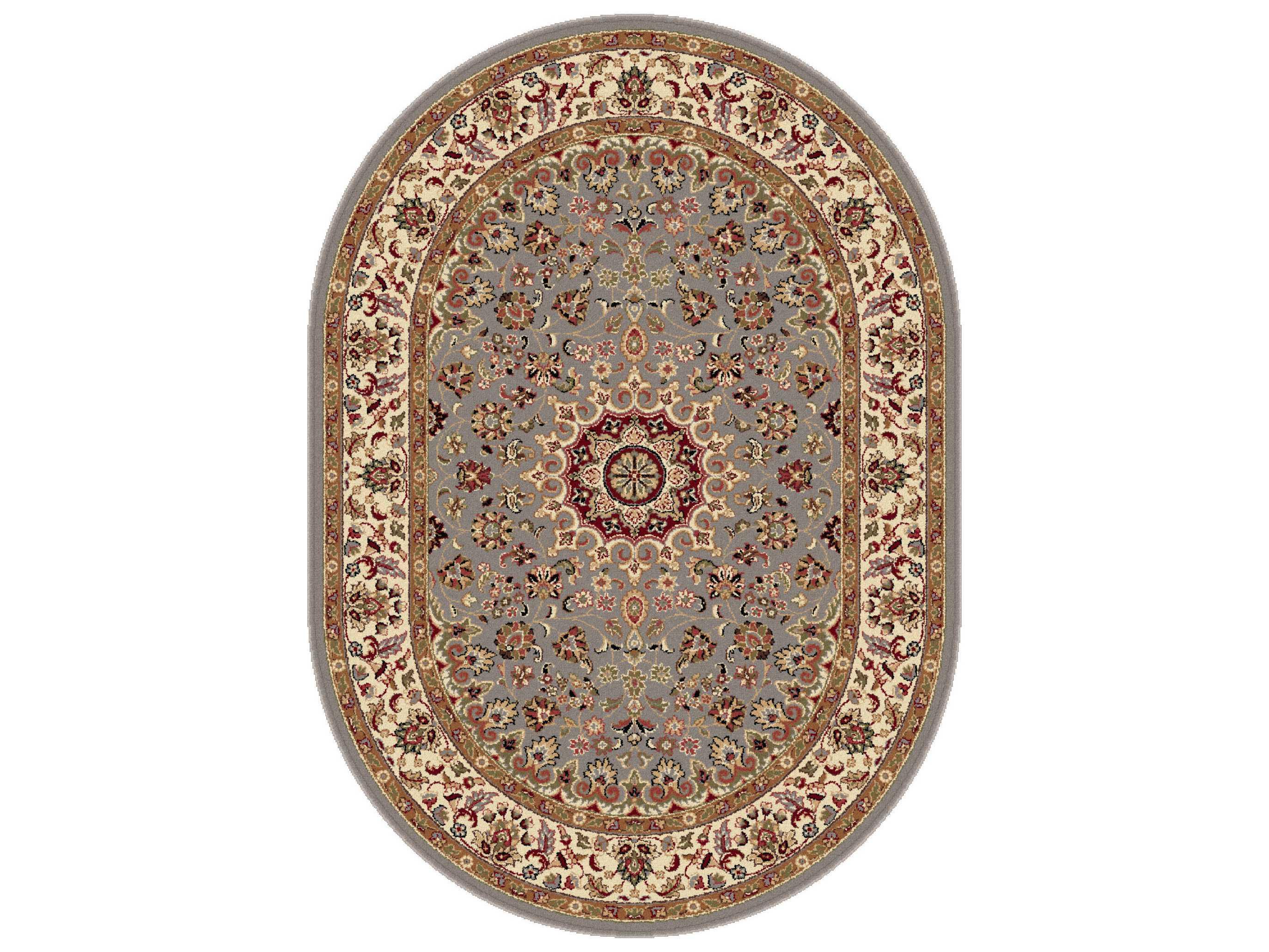 tayse rugs elegance victoria oval blue area rug