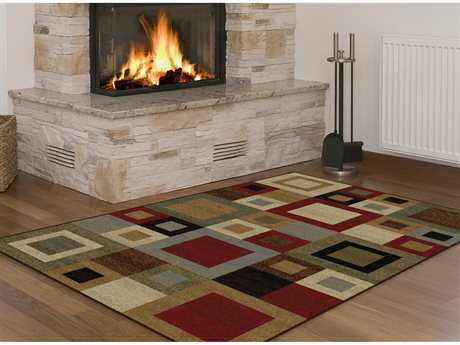 Tayse Rugs Elegance Jamie Rectangular Multi-Color Area Rug