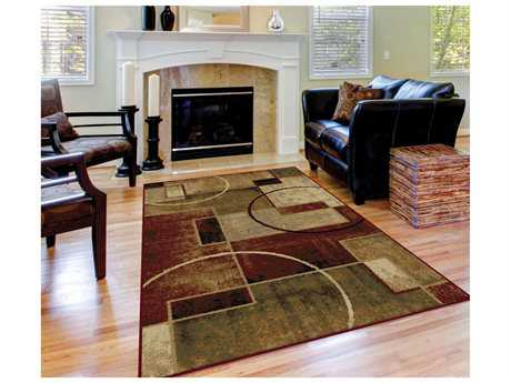 Tayse Rugs Festival Andrew Rectangular Multi-Color Area Rug
