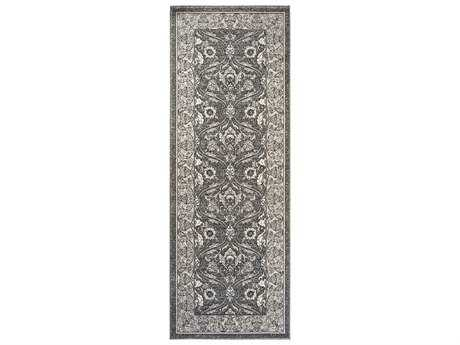 Tayse Rugs Kensington Aaron Rectangular Gray Runner Rug