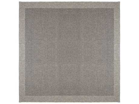Tayse Serenity 7'6'' Wide Square Charcoal Area Rug