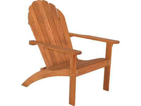 Three Birds Casual Adirondack Teak Wood Chair