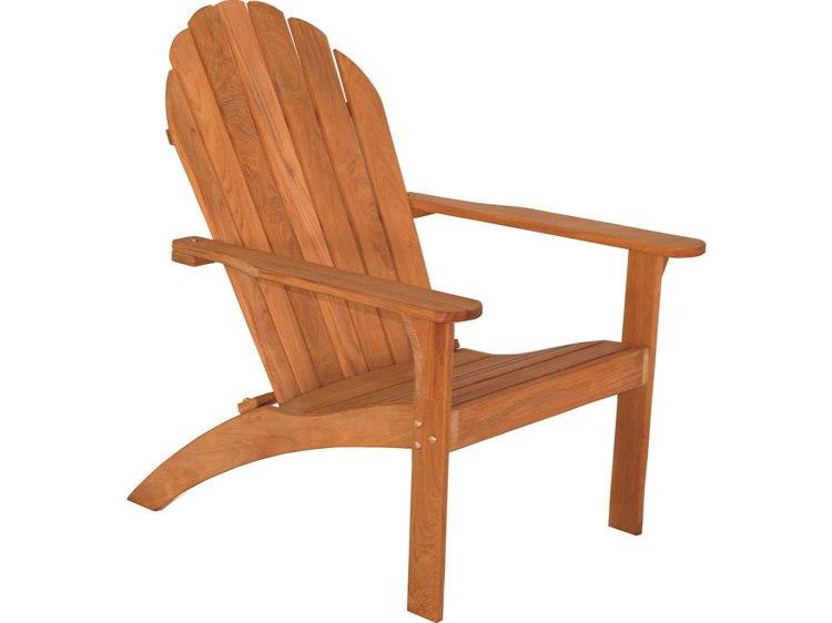 Three Birds Casual Adirondack Teak Wood Chair